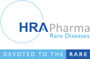 HRA Pharma Rare diseases logo, devoted to the rare